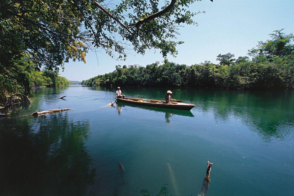 river san pedro, guatemala