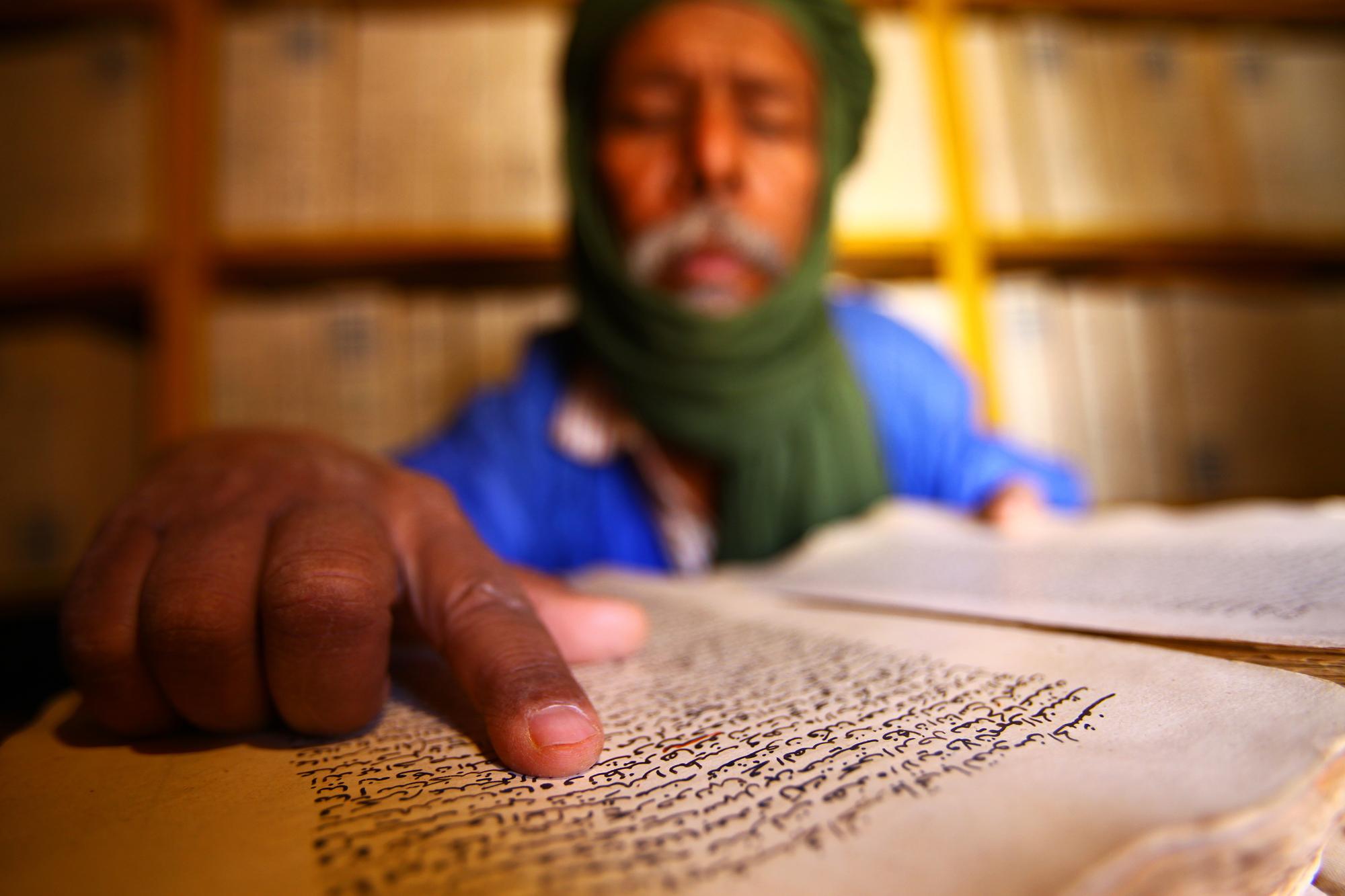 mauritania, mauritania library, africa, manuscript, manuskripti, mauritanija, davor rostuhar