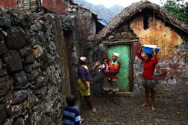 cabo verde village, traditional, remote africa, davor rostuhar