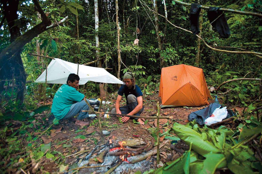 bolivia jungle camping