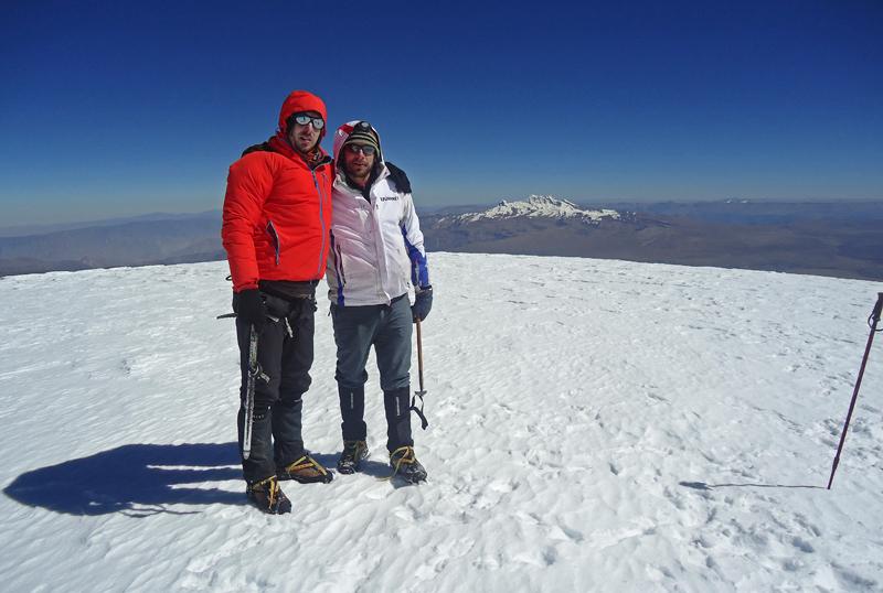 coropuna volcano, peru, mountains peru, hiking peru, davor rostuhar