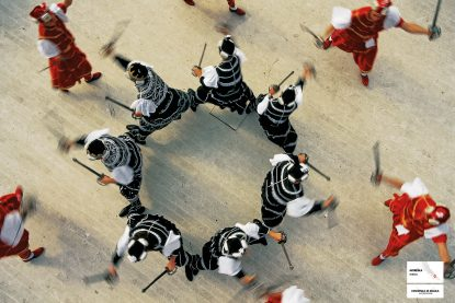 poster, moreska, sward dance, dance from above, traditional